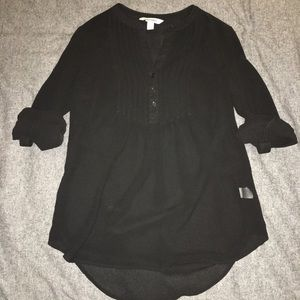 Small Old Navy Black Tunic S